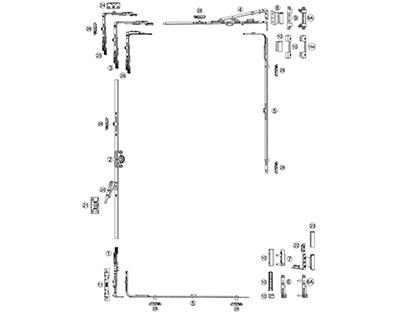 Kale PVC Kanallı Alüminyum